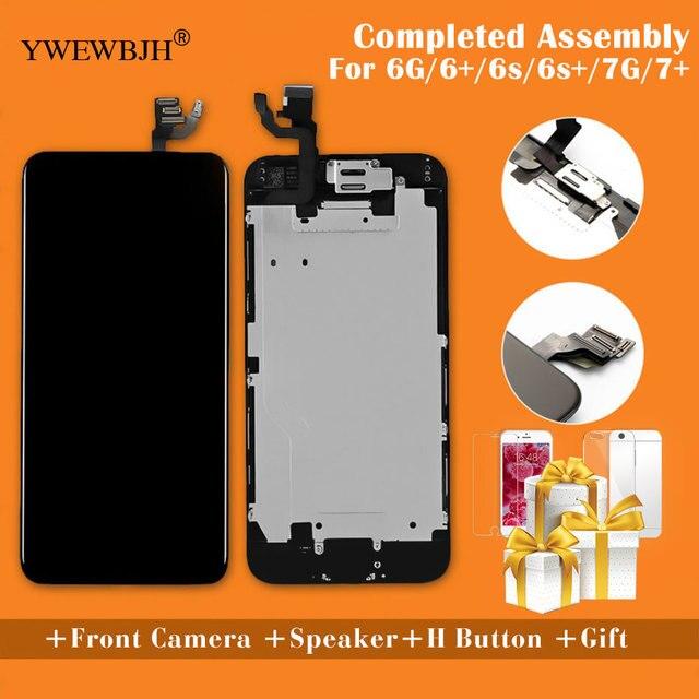 YWEWBJH AAA для iPhone 6 ЖК-экран полная сборка для 6 плюс 6s дисплей сенсорный экран Замена дисплея без битых пикселей