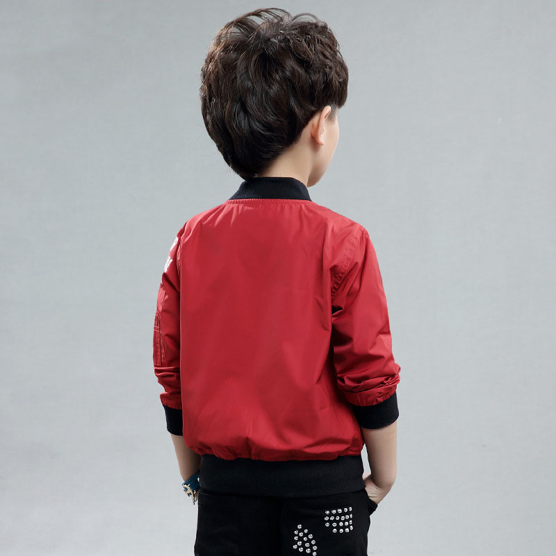 Casual Children's Jackets For Boys Baseball Coats Sport Outwear ...