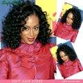 8А Бразильский Девы Волос Бразильский Kinky Вьющиеся Волосы Девственницы 3 Пачки/много Виргинский Бразильский Вьющиеся Волосы Глубоко Вьющиеся Переплетения человеческих Волос