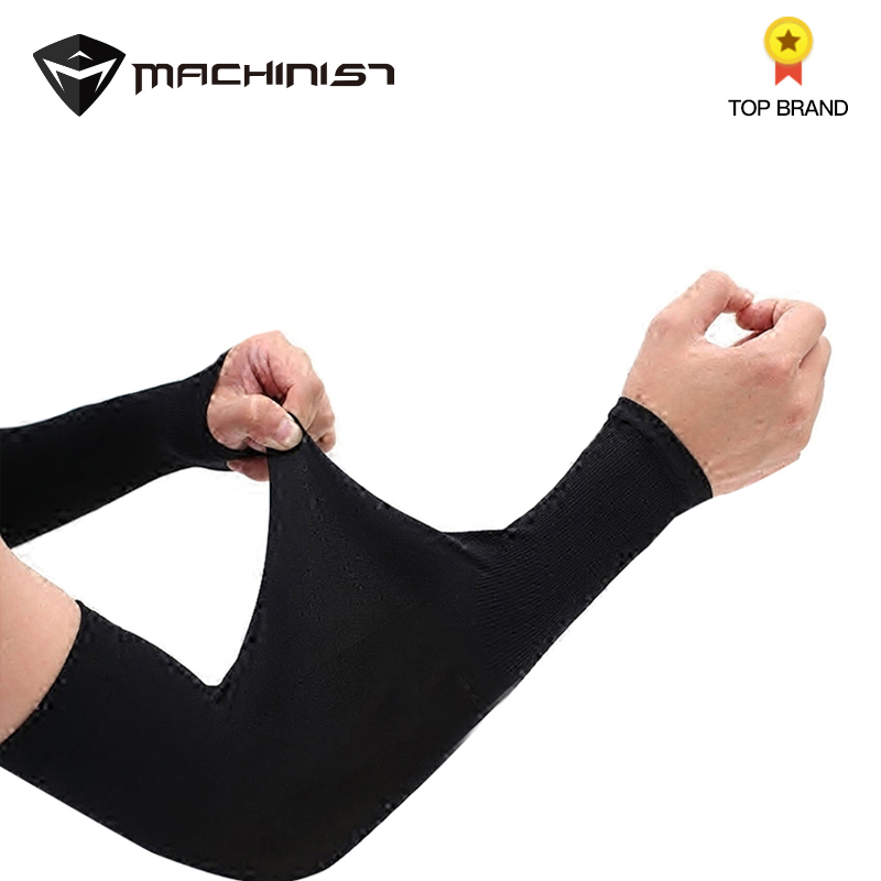 1pair Arm Sleeve Ice Silk Men Female Arm Protection Ice 2PCS Arm Sleeves Anti-UV Auto Car Drive Long Gloves Cover Summer