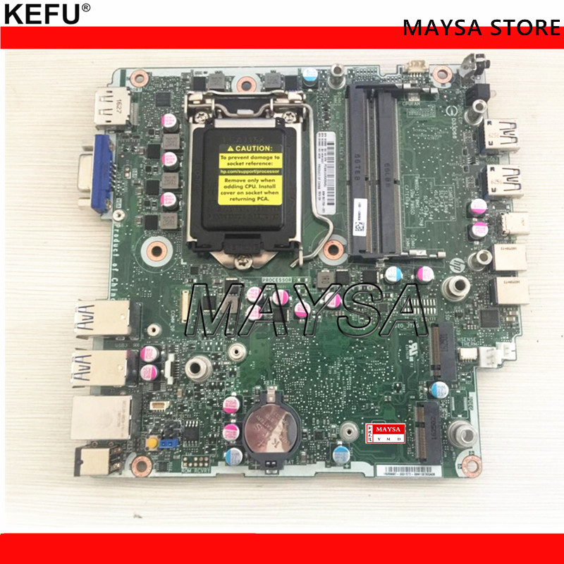 801739-001 Fit For HP EliteDesk 800 G2 Desktop Motherboard 810660-001 810660-501 LG1151 Mainboard 100%tested fully work 795972 001 for hp prodesk 600 g1 sff desktop motherboard 696549 003 795972 501 lg1150 mainboard 100%tested fully work