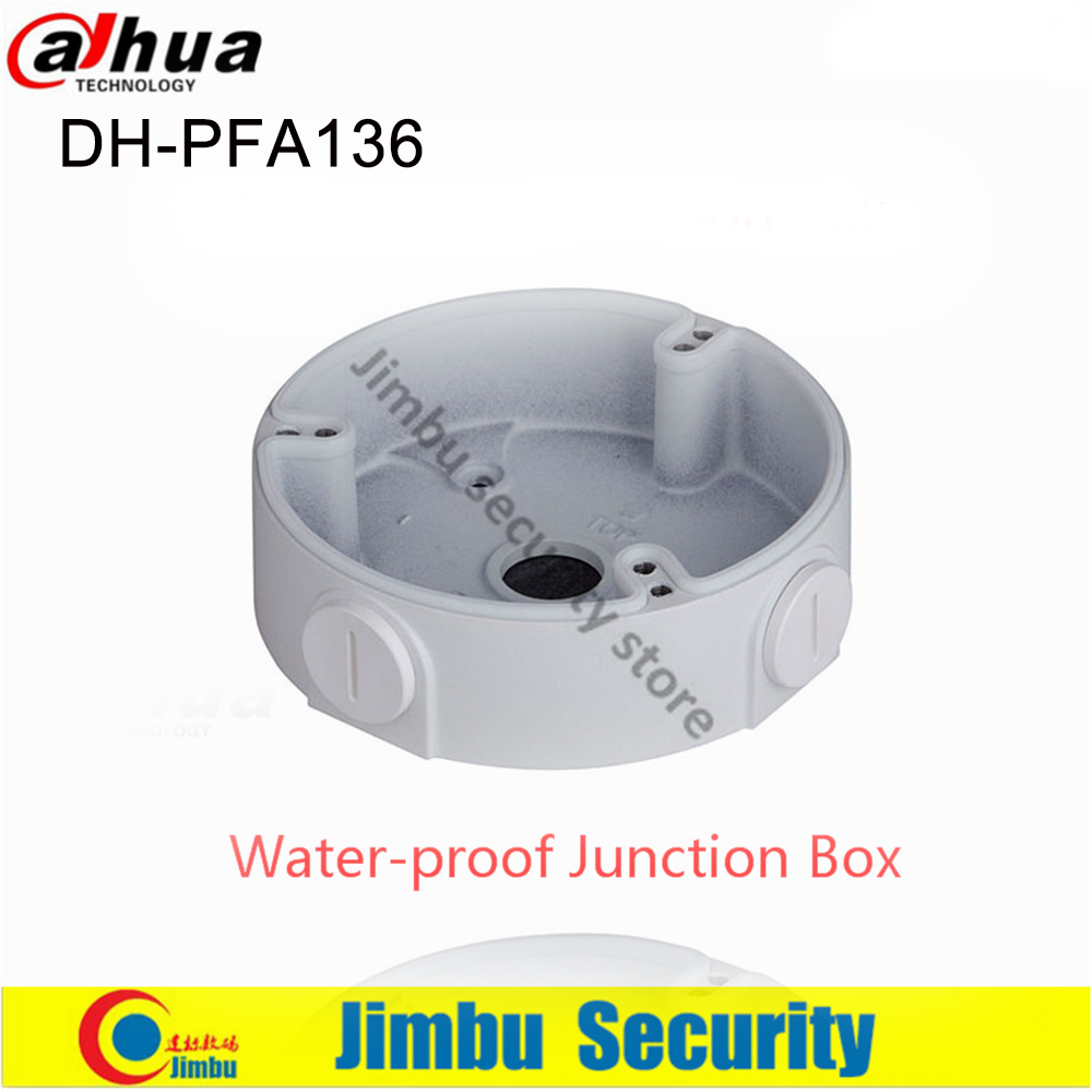 Dahua IP Camera Water-proof Junction Box PFA136 Bracket Camera Mounts DH-PFA136 For Mini Dome Camera