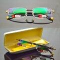 Homens titanium liga senadores antireflective revestido leitor ler não esféricas óculos de leitura + 1.0 + 1.5 + 2.0 + 2.5 + 3.0 + 3.5 + 4.0
