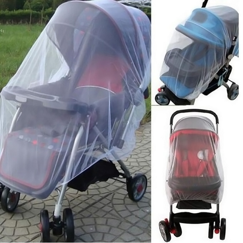 Baby Stroller Pushchair Mosquito Insect Shield Net Safe Infants Protection Mesh Stroller Accessories Mosquito Net 2017 baby stroller pushchair mosquito insect shield net safe infants protection mesh stroller accessories mosquito net trq0085