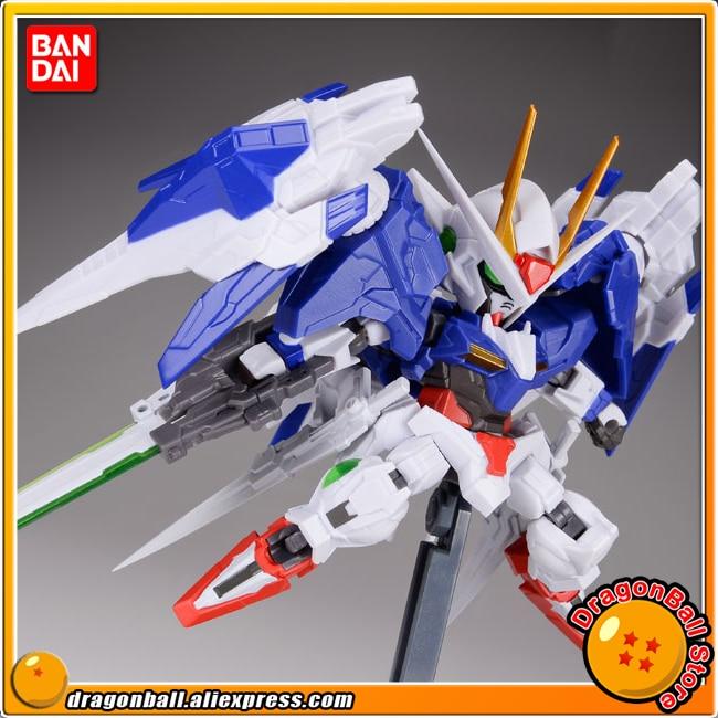 Mobile Suit Gundam 00 Original BANDAI Tamashii Nations NXEDGE STYLE Action Figure - 00 Gundam & 0 Raiser Set gundam seed destiny original bandai tamashii nations nxedge style nx 0003 action figure destiny gundam