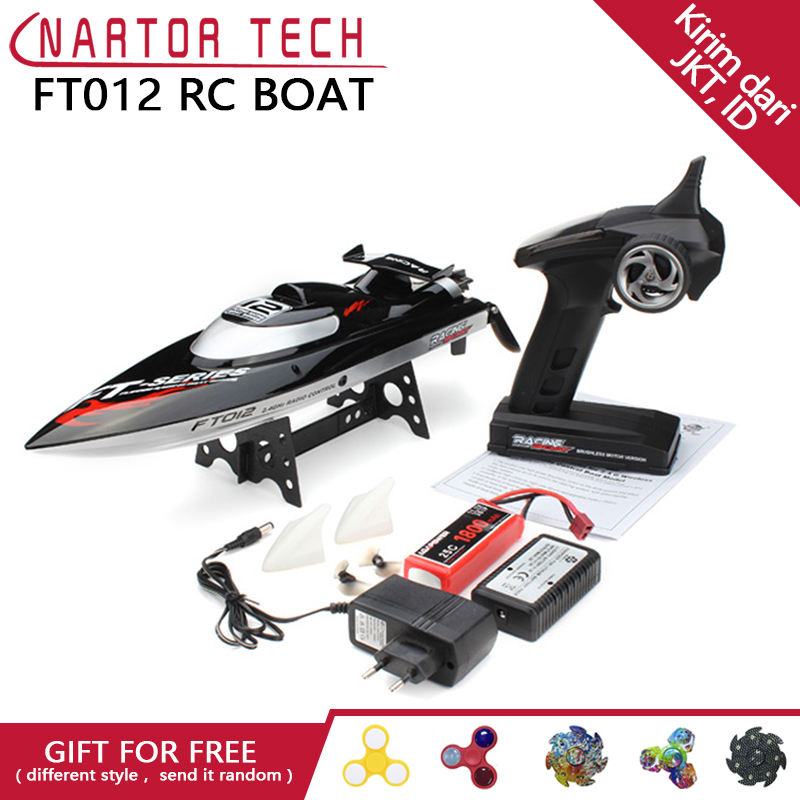Hot Sale Original FT012 2.4G Brushless RC Boat Remote Control Boats for Kid Toys Gift ...