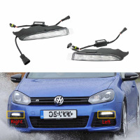 For VW Golf 6 MK6 R20 2009 2010 2011 2012 2013 LED DRL Daytime Running Light Fog Lamp Fog Light Car LED Light