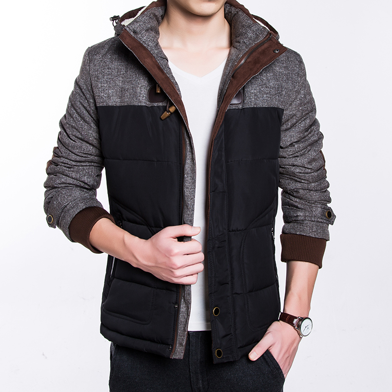 Aliexpress.com : Buy Winter Casual Men's Parka Jacket Thick and ...