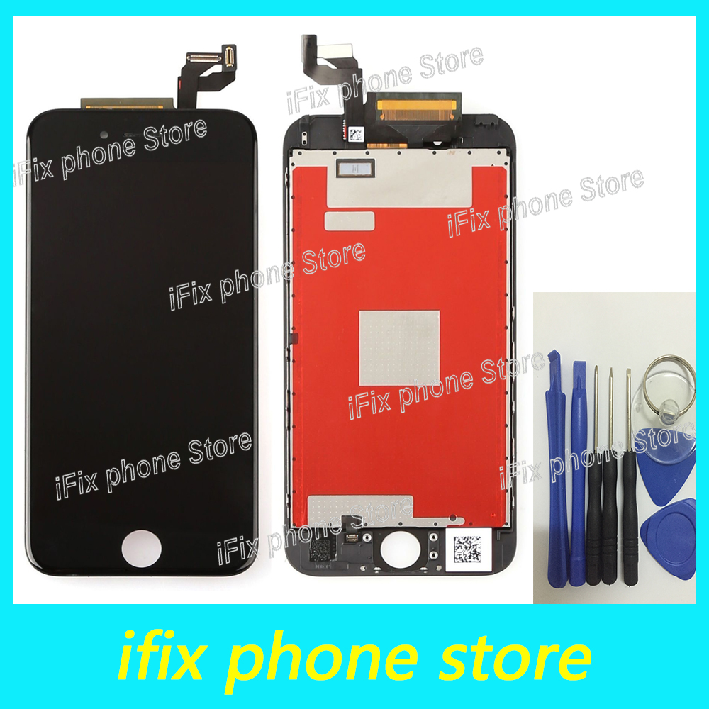 цены  5pcs/lot Grade AAA+++ For iPhone 6s LCD replacement with touch screen digitizer assembly display no dead pixel Free shipping
