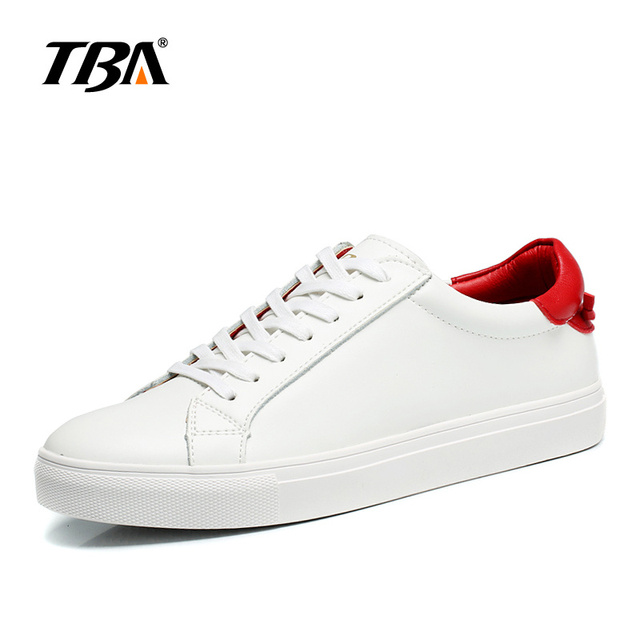 2017 TBA Men's  breathable small white shoes Outdoor light-weight  Sports Skateboarding Shoes lace-up SKateboaring shoes T1515