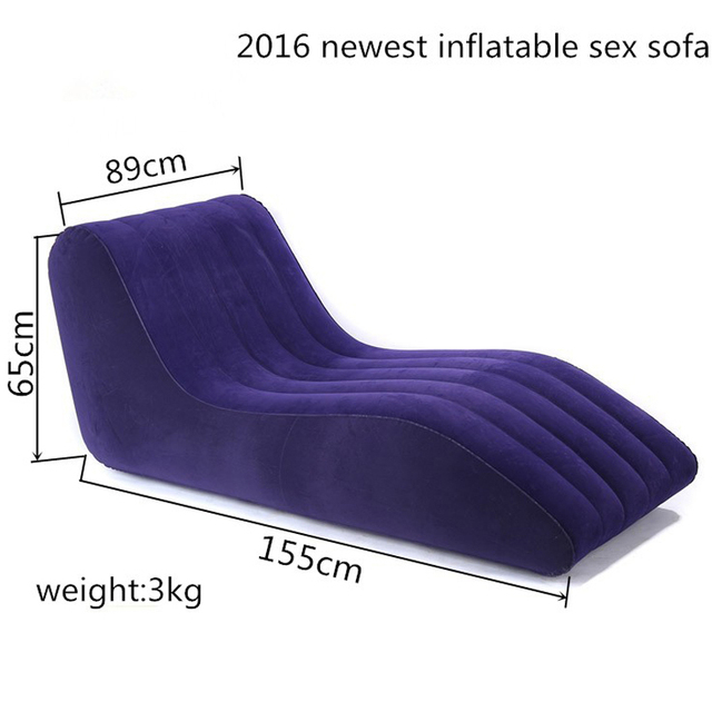 S-shaped sex cushion inflatable sofa chair furniture for couples luxury sexo love sofa sexual intercourse positions bed chairs