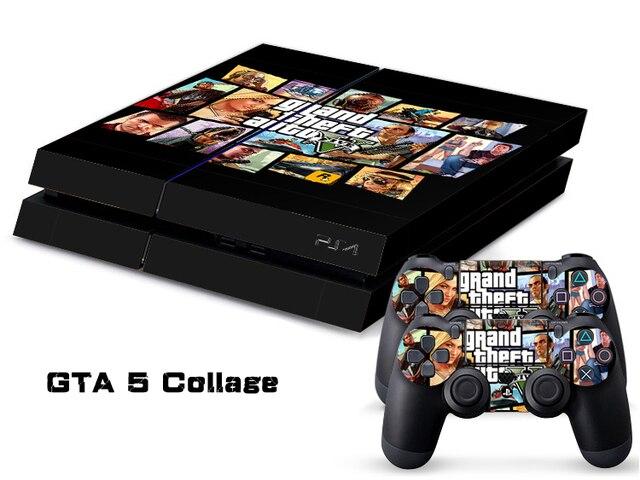 1 Unidades Etiqueta Engomada Del Pvc Para Playstation 4 Ps4 Consola