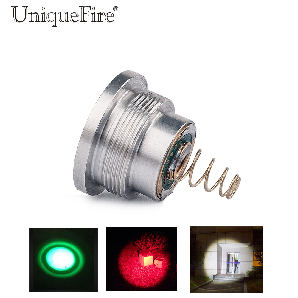Uniquefire 3 Modes 1406 Lamp Holder G/W/R Light Drop-in 1406 Cree XPE Led Pill Driver Fit For 1406 Hunting Flashlight