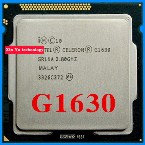 Lifetime warranty Celeron G1630 2.8GHz 2M Dual Core desktop processors CPU 1630 Socket LGA 1155 pin Computer