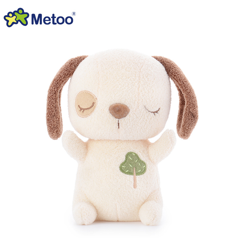 7 Inch Kawaii Plush Stuffed Animal Cartoon Kids Toys for Girls Children Baby Birthday Christmas Gift Dog Metoo Doll stuffed dog plush toys black dog sorrow looking pug puppy bulldog baby toy animal peluche for girls friends children 18 22cm