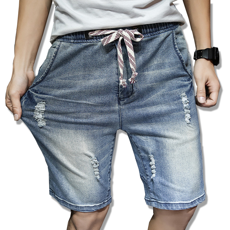 2017 New Fashion Mens Short Jeans Cotton Summer Style