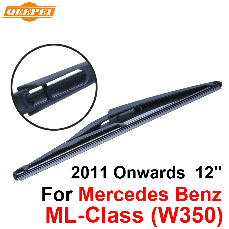 QEEPEI Rear Wiper Blade No Arm For Mercedes Benz GLK-Class(300) 2008 Onwards 12 5 door S ...