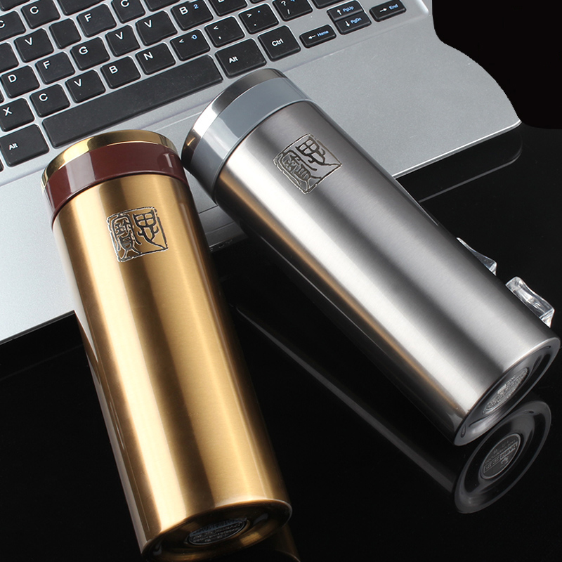 18/8 304 Stainless Steel Men or women Office Cup Vacuum Flask Jug Mug Insulated