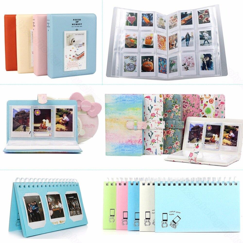 Álbum de fotos para Fujifilm Instax Mini 8 8 + 9 70 7 s 25 26 50 s 90 Filme, pringo P231, Share Instax SP-1 SP-2, PIC-300 Z2300 Polaroid Filme