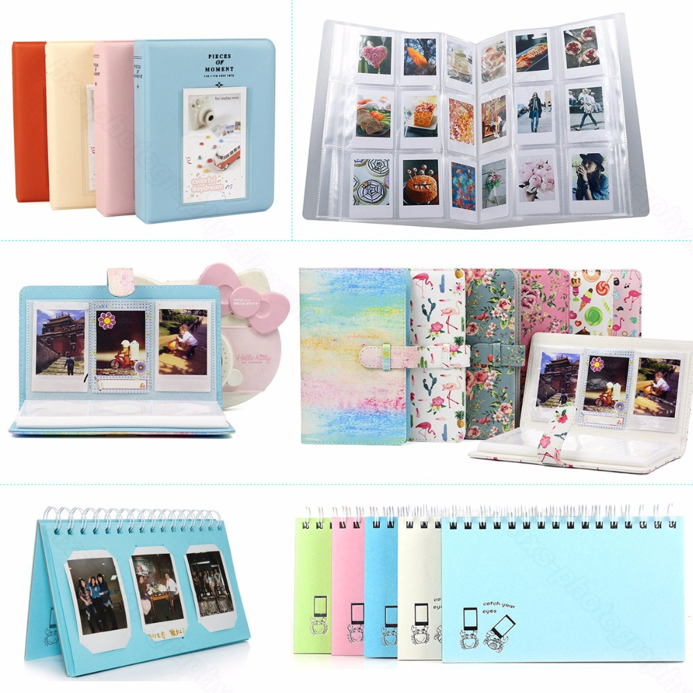 Album For Fujifilm Instax Mini 8 8+ 9 70 7s 25 26 50s 90 Film, Pringo P231, Instax Share SP-1 SP-2, Polaroid PIC-300 Z2300 Film