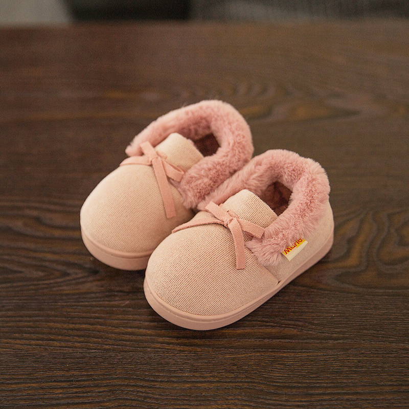 1 4 years old baby slippers winter