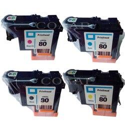 1PK tusz kompatybilny do hp 80 głowicy drukującej Designjet 1000 1050c 1055 drukarki pojemnik z tuszem głowica drukująca do hp 80|Tusze do drukarek|Komputer i biuro -