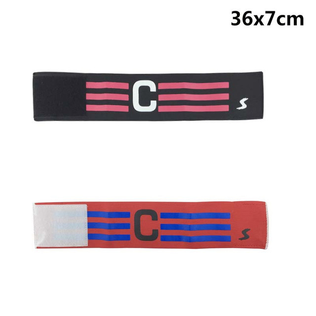 Hot cool Breathable Nylon Football Soccer Adjustable Elastic Captain Armband Elbow Exercise Health Care dult kid perfect gift#30
