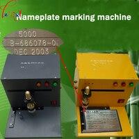 Elétrica/sinais de pneumáticos máquina da marcação da placa de identificação máquina da marcação pneumática máquina da marcação linear guia todos elétrica 1 pc