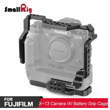 SmallRig DSLR Camera Cage for Fujifilm X-T2 & For Fuji X-T3 with Battery Grip 2229