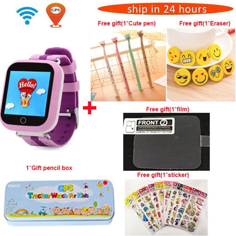 TWOX GPS Montre Smart Watch Q750 Q100 gw200s Bébé Montre Smart Watch Avec Écran Tactile SOS Appel Dispositif de Localisation Tracker pour Enfant PK sûr Q50