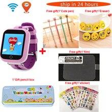 TWOX GPS akıllı saat Q750 Q100 gw200s akıllı bebek saati akıllı saat ile dokunmatik ekran SOS çağrı konumu cihaz Tracker Kid için güvenli PK q50