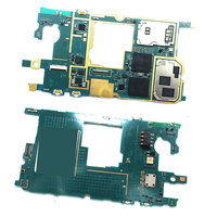 Original Unlocked With Chips Mainboard For Samsung Galaxy S4 Mini I9195 Motherboard Flex Cable Europe Version