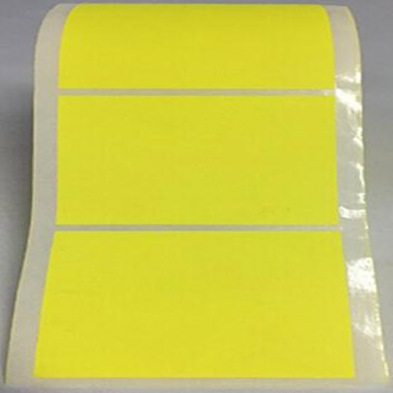 2 quot Inch Square Fluorescent Yellow stationery sticker Color Coding Dot Labels 500 Colored Circle Stickers Per Roll in Stationery Stickers from Office amp School Supplies