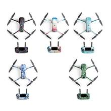 5 צבעים PGYTECH DJI Mavic 2 כריש מדבקה Drone גוף מדבקת מטוסי דבק עור עבור Mavic 2 פרו זום מרחוק שליטה מדבקות