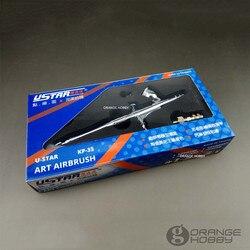 OHS Ustar KP35 Modell Spray Arbeit Modellierung Doppel-action Art Airbrush 0,3mm Hobby Malerei Werkzeuge Zubehör
