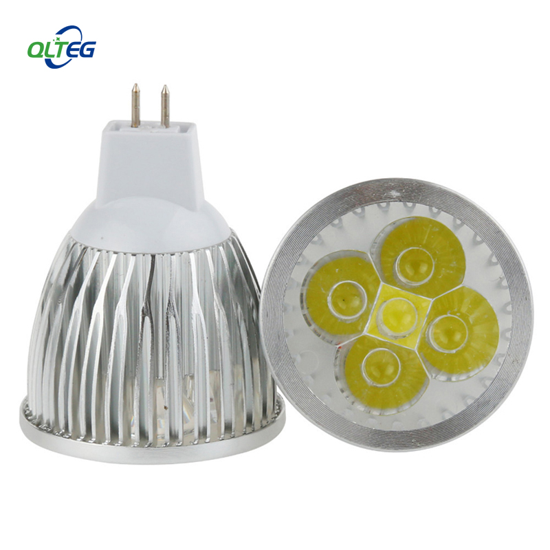 High power 3W 4W 5W MR16 LED Bulbs Light 12V Dimmable Led Spotlights warm cool white Neutral White lamp 4000K for home fixture 1w led bulbs high power 1w led lamp pure white warm white 110 120lm 30mil taiwan genesis chip free shipping