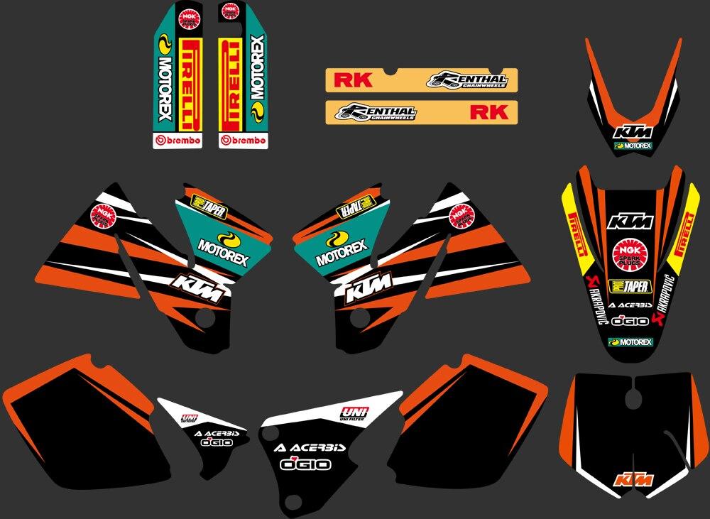 KTM EXC Graphics: Decals, Emblems   eBay
