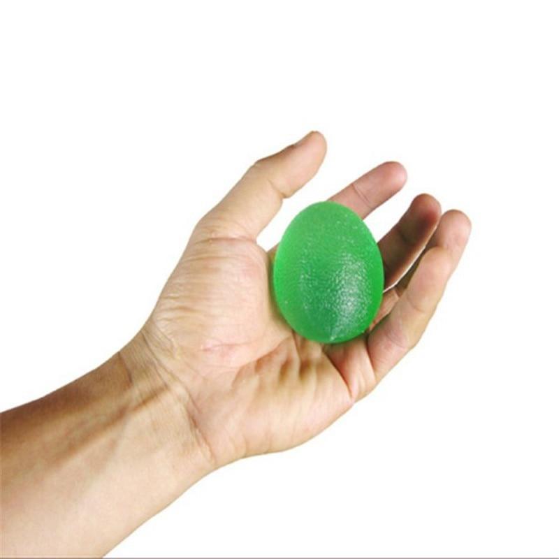 Новинка! Рукой запястье палец упражнения Игрушка антистресс настроение Сожмите рельеф ослабитель мяч яйцо Форма поступление