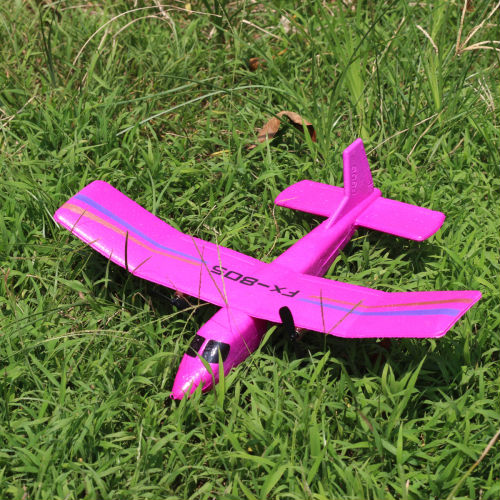 Best popular RC plane Model FX805 Foam Glider Electric rc Airplane 2.4G RC airplane 2.4GHz transmitter image