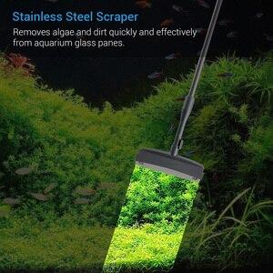 Image 2 - NICREW cepillo 6 en 1 para acuario, rascador de algas para acuario, Kit de herramientas de limpieza, accesorios de limpieza para peceras