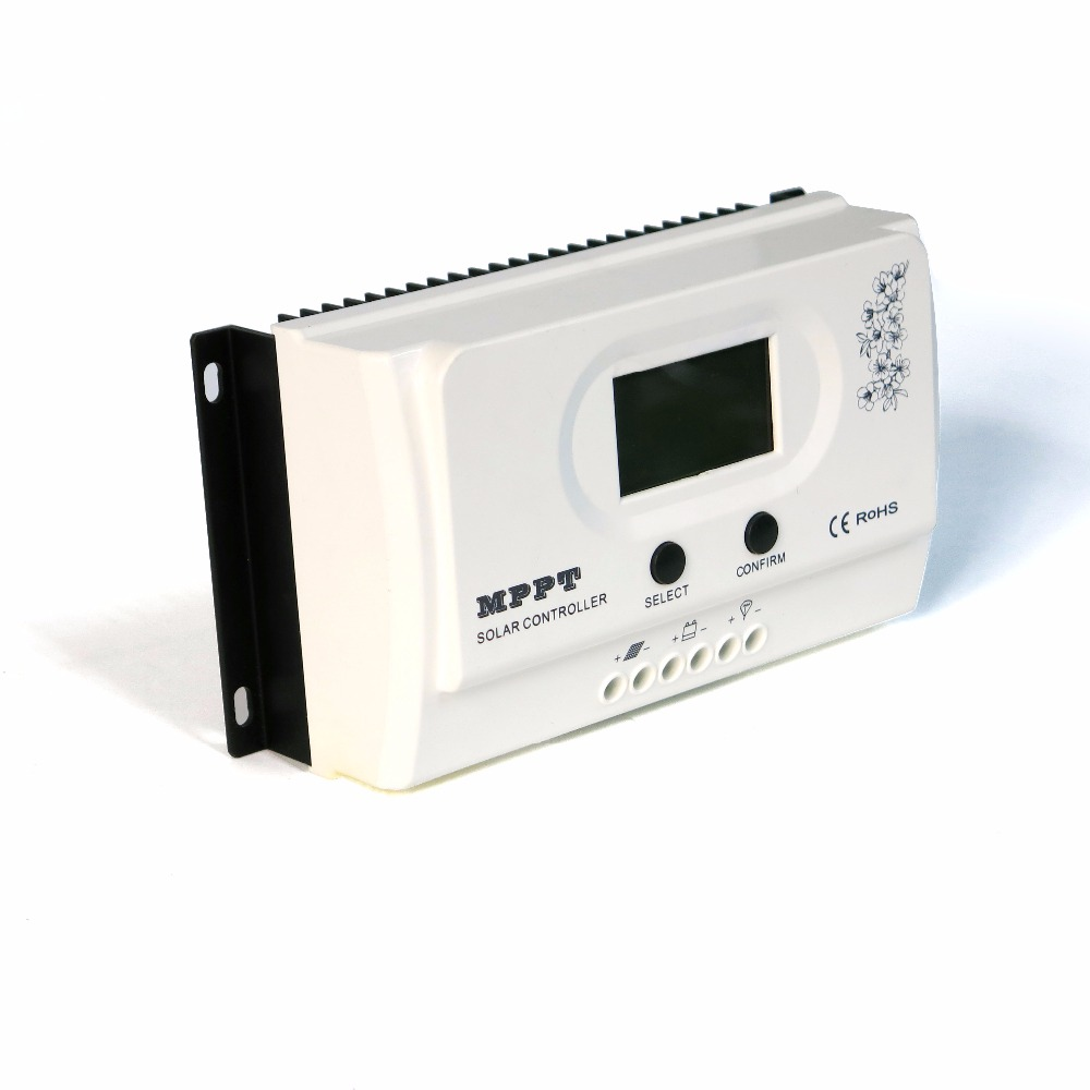 Wiser3 20A MPPT Solar Charge Controller Charging 12V 24V Auto for Max.100VDC Input off Grid PV Power System with USB 5V3A RS485