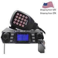 عالية الطاقة 75 W QYT KT 980Plus المزدوج الفرقة 136 174 و 400 470 MHz 200CH راديو السيارة 980 زائد
