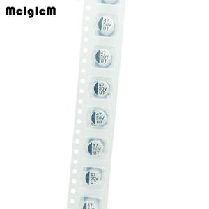 Image 2 - MCIGICM 1000 قطعة 47 فائق التوهج 50V 6.3 مللي متر * 7.7 مللي متر SMD مُكثَّف كهربائيًا