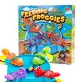 Feeding frog desktop game brand children toys kids brain action early parent-child interaction