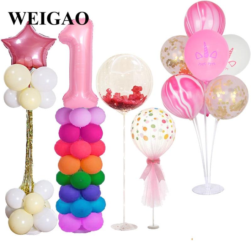 10Pcs//Set Plum Flower Shape Balloon Modelling Clip For Party Decorations M9