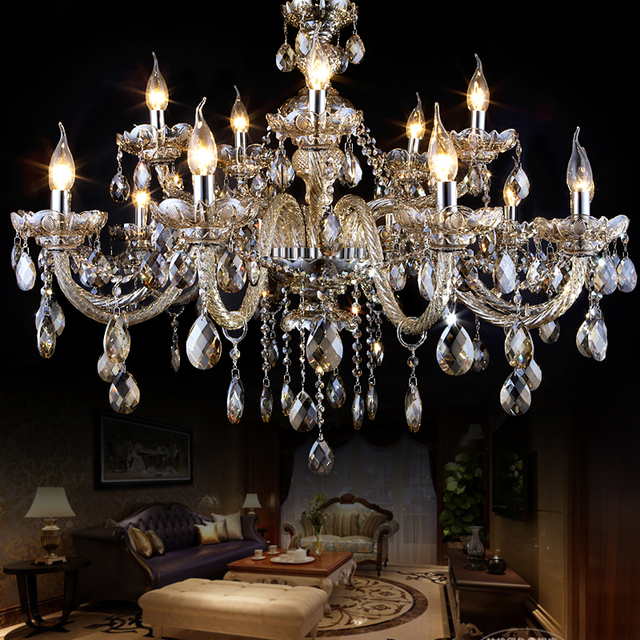 Modern crystal congac chandeliers large light champagne hotel lights modern crystal congac chandeliers large light champagne hotel lights chandelier kristall lustres de cristal for dining aloadofball Image collections