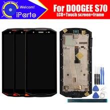 5.99 นิ้ว DOOGEE S70 จอแสดงผล LCD + หน้าจอสัมผัส + Digitizer + FRAME ASSEMBLY 100% จอ LCD เดิม + Digitizer สัมผัสสำหรับ s70 + เครื่องมือ