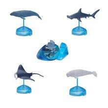 Ассорти 4 шт./компл. из ukenn 2nd поколения 3D морских животных Пазлы DIY модели детские развивающие игрушки 4266