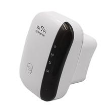 Wifi Repetidor inalámbrico 802.11n/b/g Red Range Expander Router Inalámbrico 300 Mbps Repetidor Amplificador de Señal con LA UE EE. UU. Plug