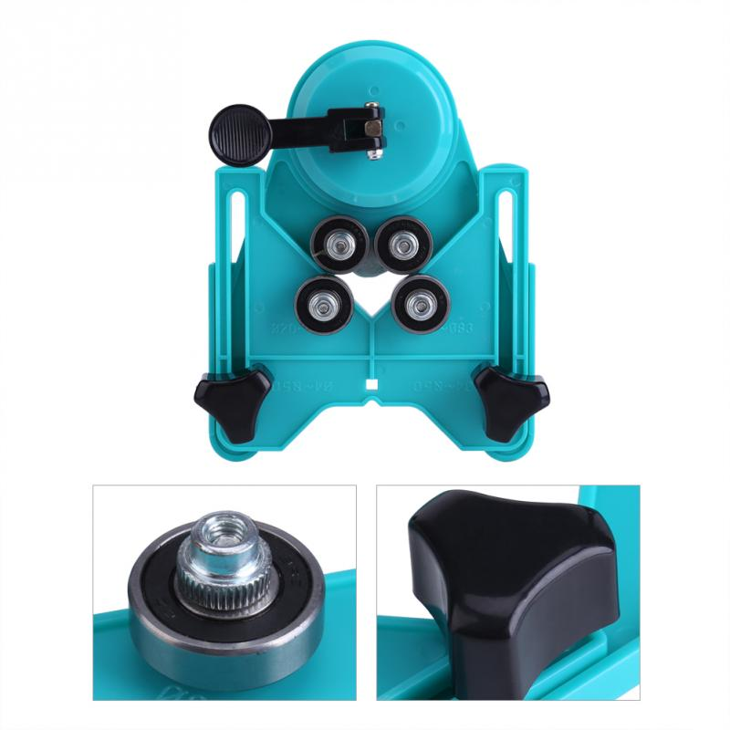 4mm-80mm Adjustable Tile Glass Drill Guide Hole Saw Openings Locator Sucker